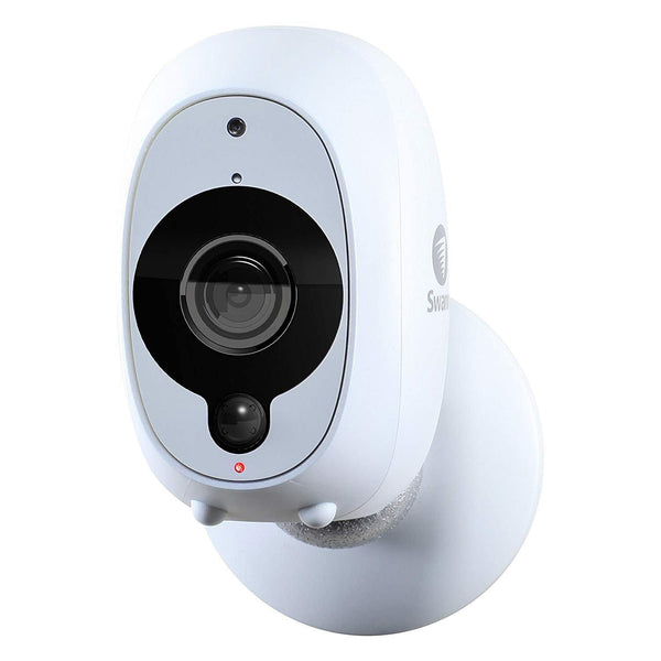 Swann Smart Security Camera | 1080p Wire-Free Security | True Detect PIR Heat/Motion (White) Sensor - DealsnLots