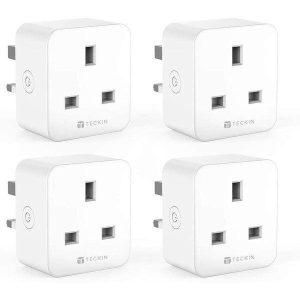 TECKIN Smart Plug 4 Pack, 16A Plugs with Timing Function and Remote Control- Model: SP23 (White) - DealsnLots