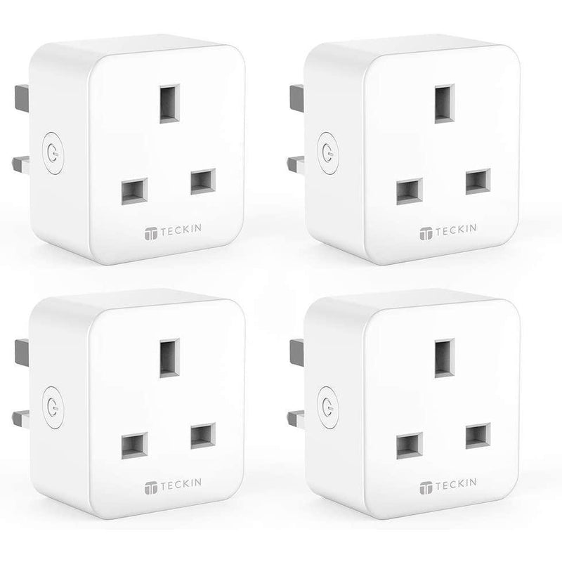TECKIN Smart Plug 4 Pack, 16A Plugs with Timing Function and Remote Control- Model: SP23 (White)