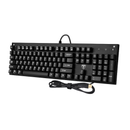 EasternTimes  Mechanical Gaming Keyboard - Rainbow colors LED backlit USB wired with multimedia layout Model:Tech I-600 (Black)