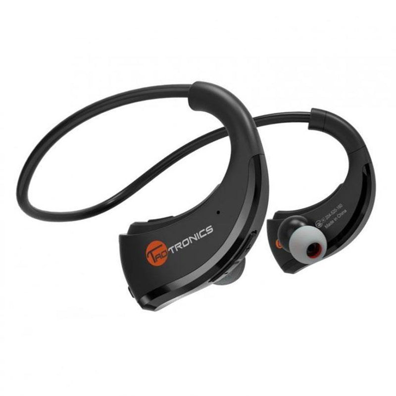 TaoTronics Bluetooth 4.1 Wireless Stereo Sports Earphones - Black -TT-BH09