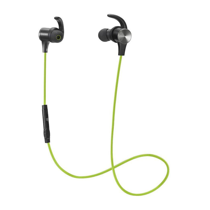 TaoTronics Bluetooth 4.1 Sport Magnetic Headphones-Model: TT-BH07-(Green)