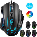 TedGem Wired Gaming Mouse- Model: SI-989S (Black)