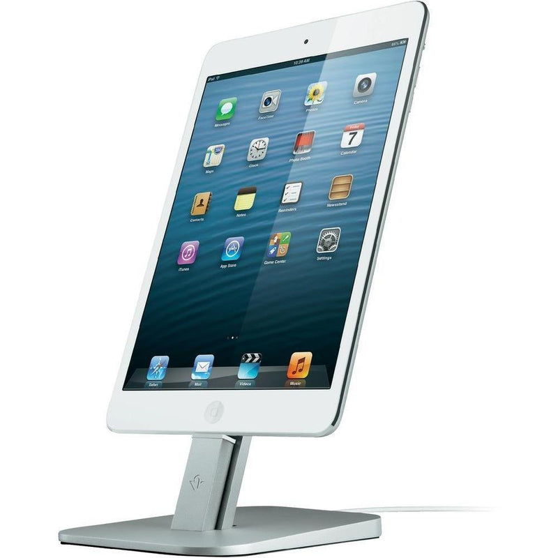 Twelve South HiRise Adjustable charging stand for iPhone-iPad - (Silver)