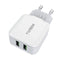 TYJTECH USB Home-Travel Charger Model:A2202 (White)