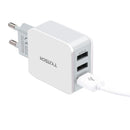 TYJTECH USB Home-Travel Charger Model:A3301 (White)