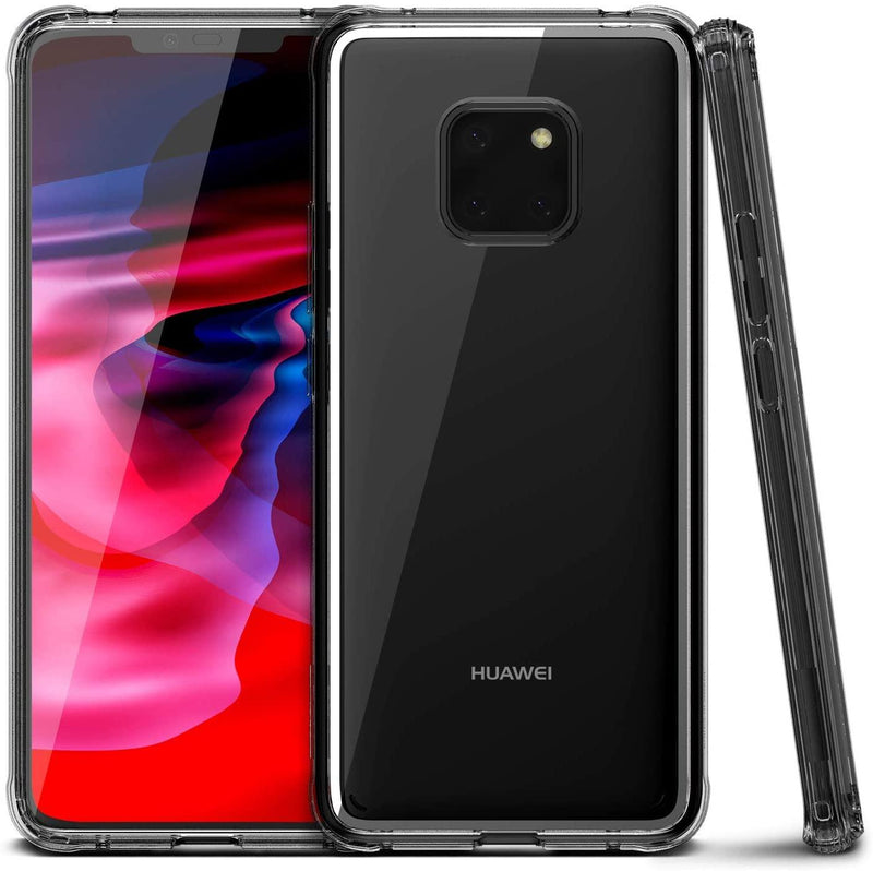 VRS Design Huawei Mate 20 PRO Crystal Chrome cover/case - Clear