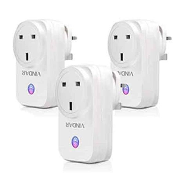 Vindar SWA1 WiFi Smart Plug Socket (3 Pack) - DealsnLots