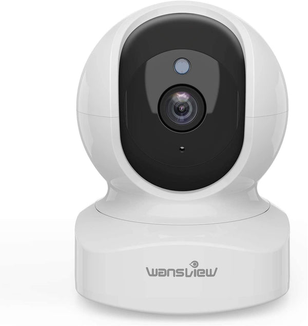 Wansview Q5, 1080P Wireless Home IP Security Camera with Motion Detection 2-Way Audio Night Vision [White] - DealsnLots