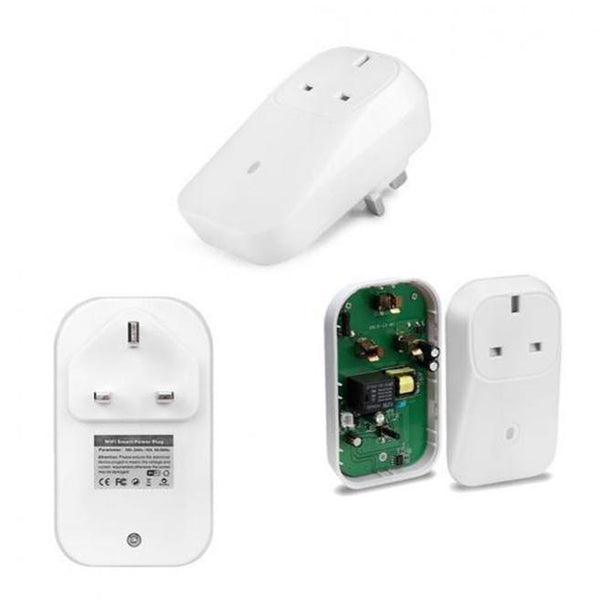 WiFi Wireless Smart Plug Socket - (White)