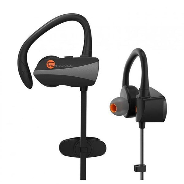 Taotronics Wireless In Ear Earbuds Magnetic Stereo Earphones With Built-In Mic - TT-BH10 - (Black-Grey)