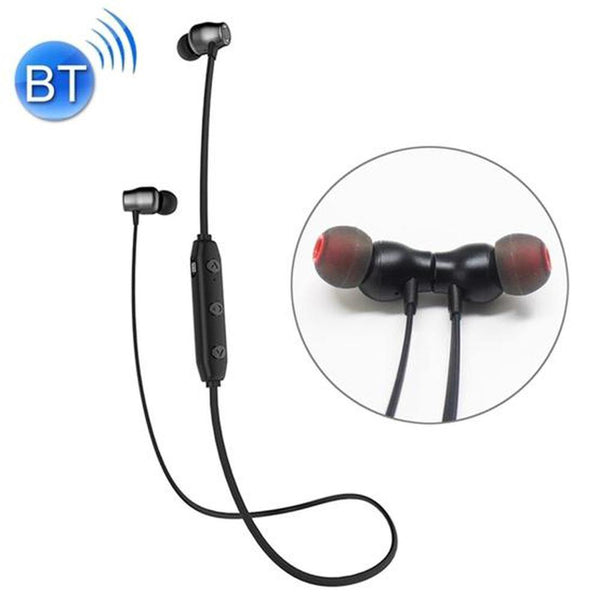 XRM X5 Bluetooth Magnetic Wireless Earbuds with Microphone (Black)