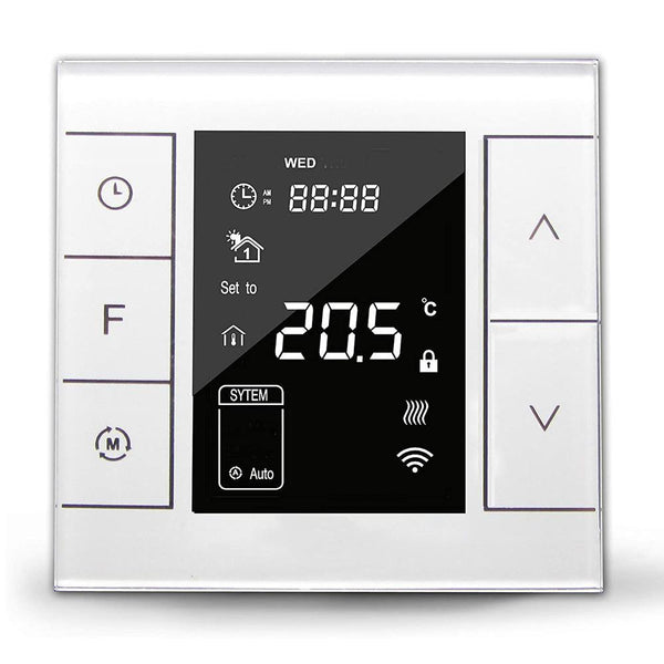Z Wave GM7H-WH-EU UnderFloor Heating Thermostat [White] - DealsnLots