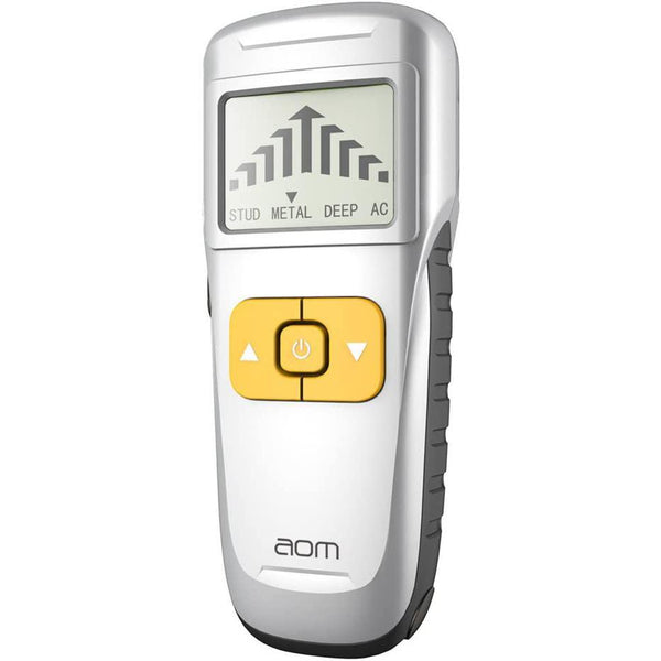 aom 4 in 1 Multiscanner Wall nail. Electronic StudSensor with Sound Warning Detection for Stripped AC Wire, Metal, Nails, Wood- Model: TS002 (Silver) - DealsnLots