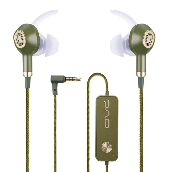 OVC Active Noise Cancelling Earbuds Earphone Wired ANC Headphone