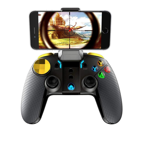 iPEGA Wireless Gamepad Joystick Multimedia Game Controller Compatible With iPhone, Android, Tablet, PC, Android TV Box - Model: PG-9118 - (Black)