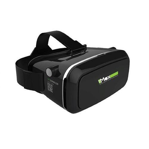 VIZMAX Ultra Premium 3D VR Headset Virtual Reality Box With Bluetooth Remote Control (Black)