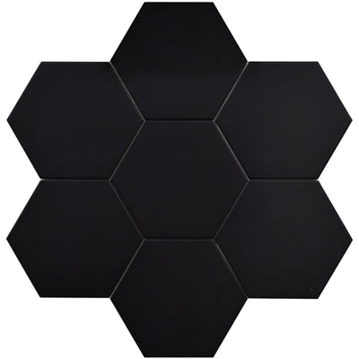 "Hexagon Series 10"" Black Matte  *$7.30/ft*"