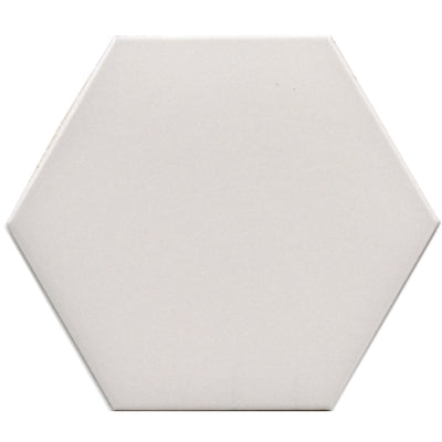 "Hexagon Series 10"" White Matte  *$7.30/ft*"