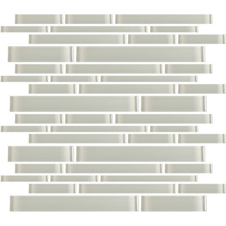 Glass Random Strips Light Grey - Pendulum TILE