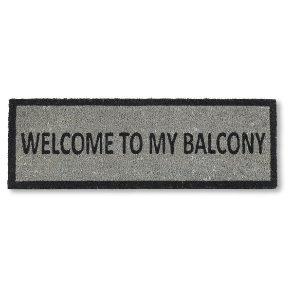 Welcome To My Balcony Small Doormat