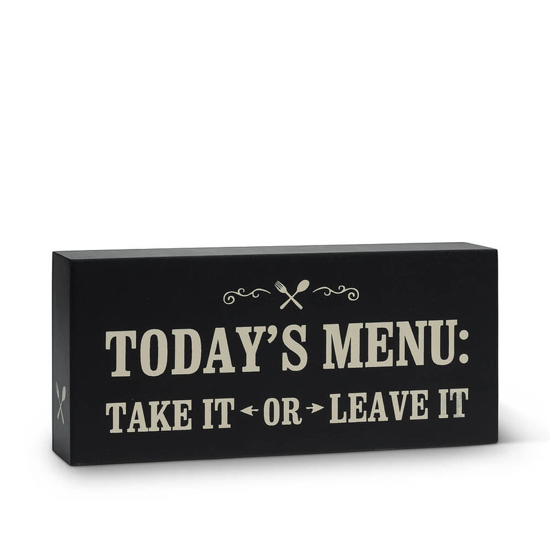 "Rectangle ""Todays Menu"" Block"