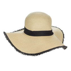 Sun Hat with Band & Rim