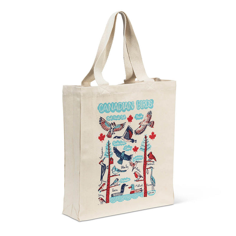 Canadian Birds Tote Bag