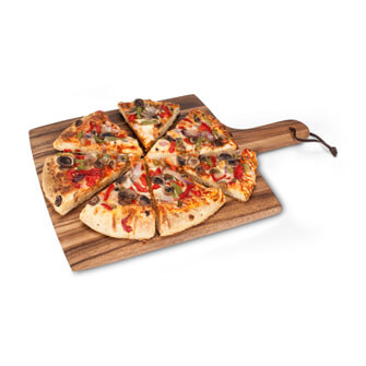 Square Pizza Board w/strap