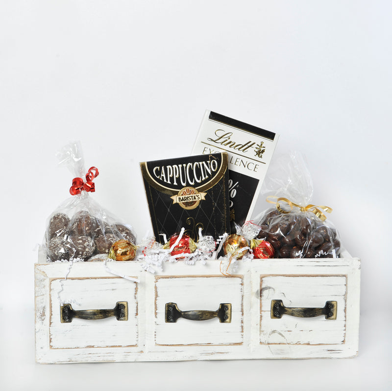 The White Drawer w/Handmade Chocolates & Lindt Bar