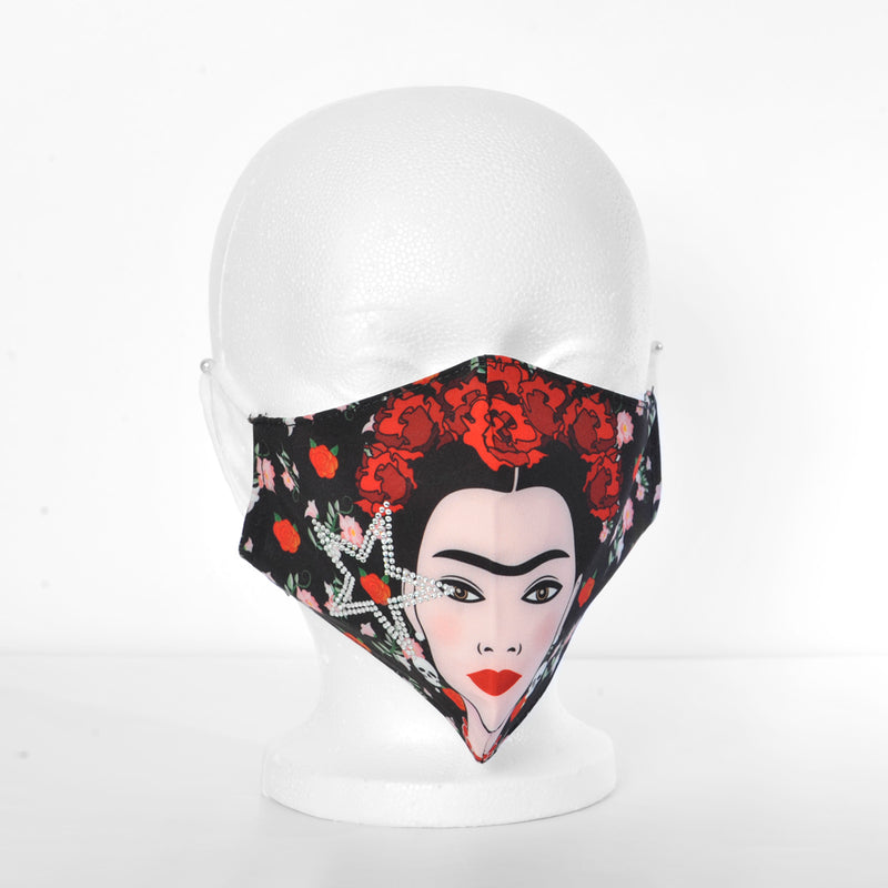 Frida Kahlo Face Mask