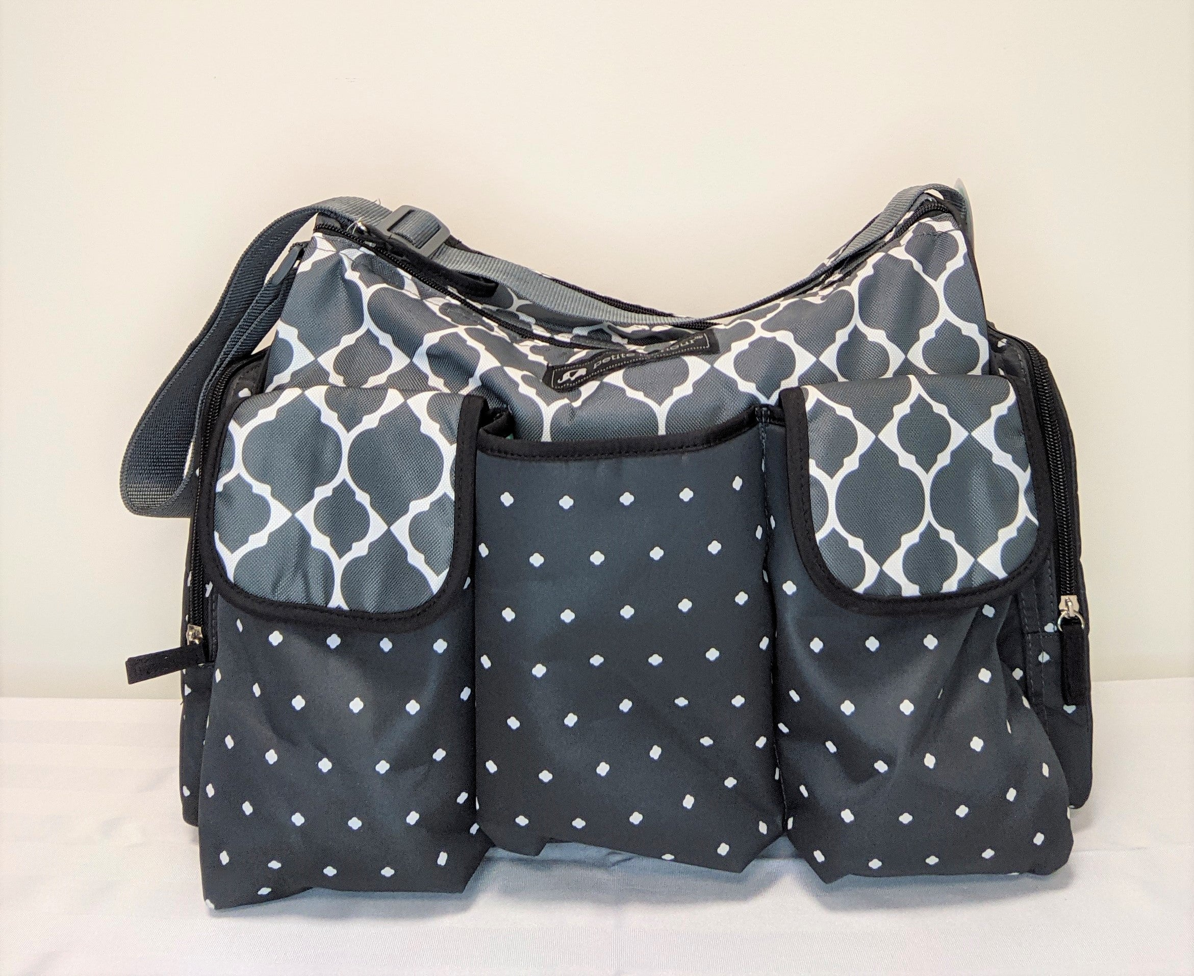 """""""Petite l' amour"""" for Baby- Large Duffle diaper bag"""