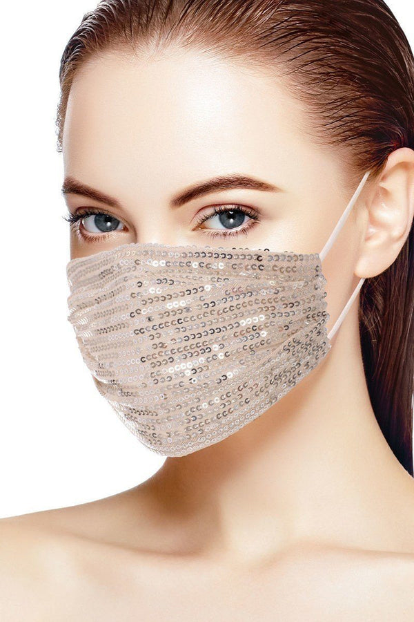 Sequin Fashion Facemask