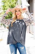 Animal Print Long Sleeves