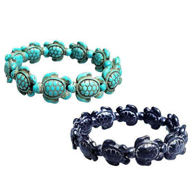 Fashion Style Sea Turtle Beads Bracelets