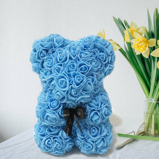 Valentines Day Gift Rose Teddy Bear Rose Flower