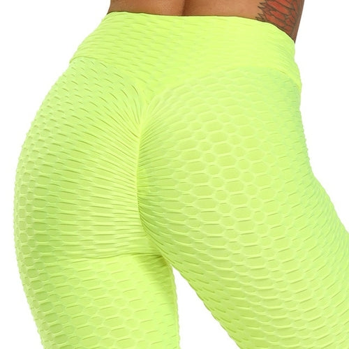 Womens Yoga Pants Scrunch Butt Lift Anti Cellulite Workout Leggings