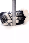 Christmas Holiday Fuzzy Fleece Knit Socks