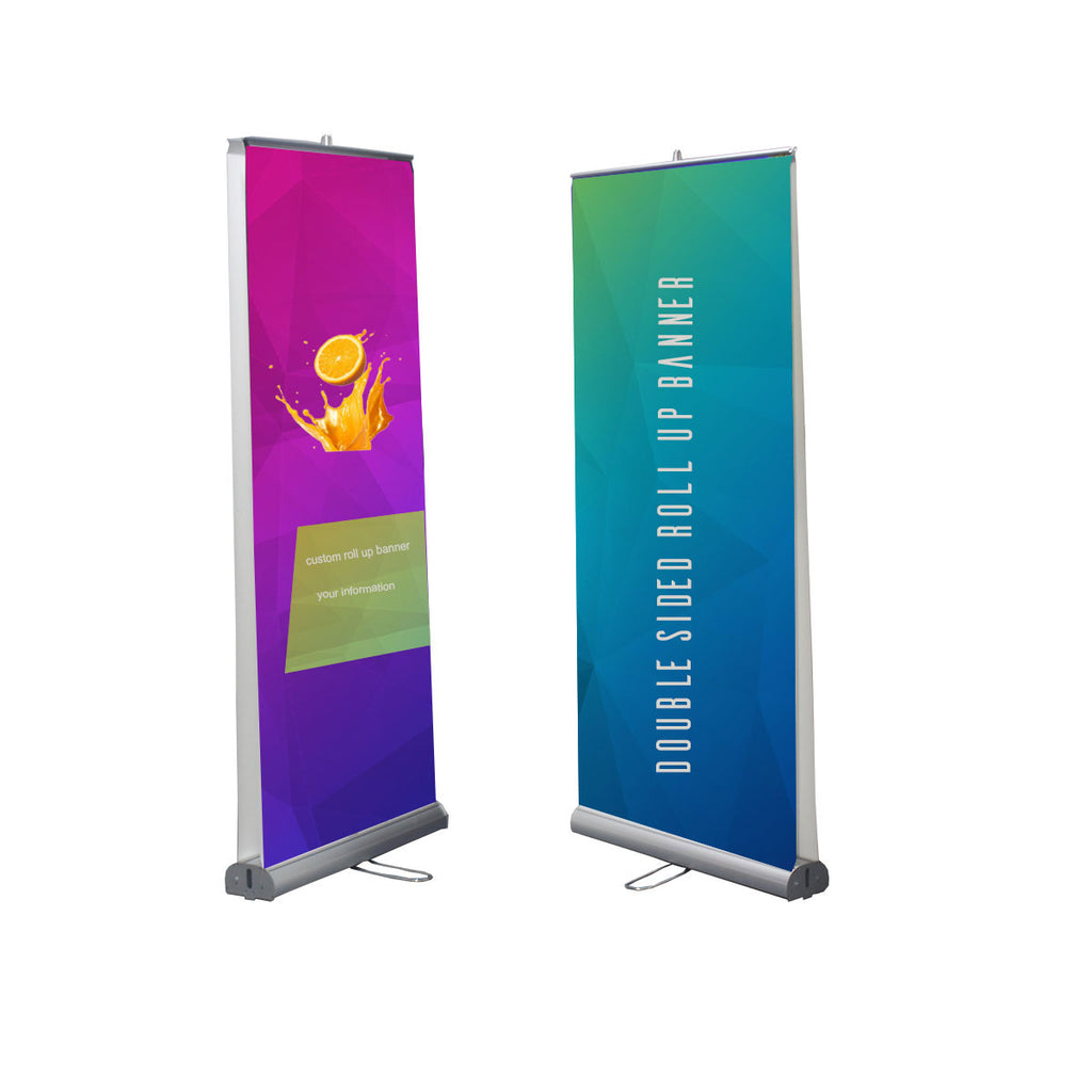 Double Sided Pull Up Banner-Double Sided Roll Up Banner-80X200cm
