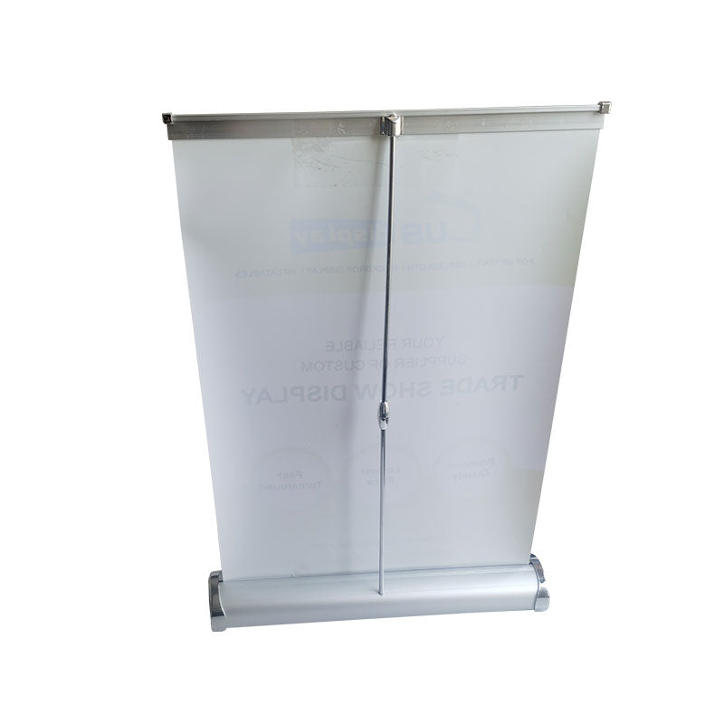 Trade Show Tabletop Display-Table Top Banner Stand-Mini Roll Up Banner