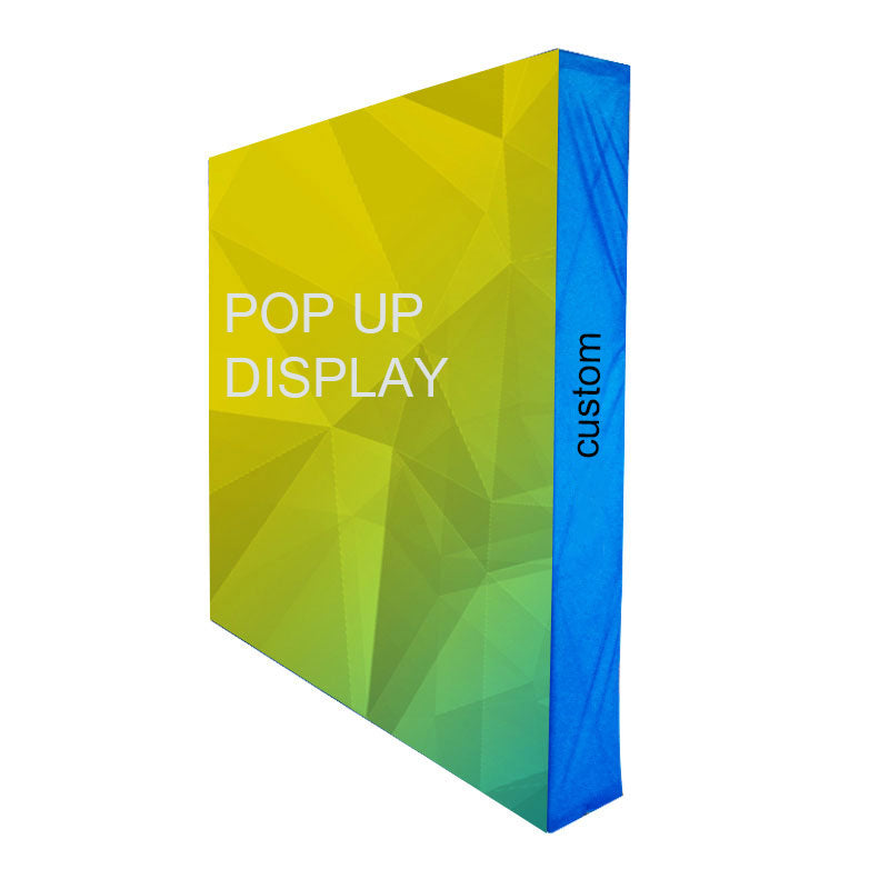 Fabric Pop Up Display Backdrop Wall Banner Stand for Trade Show