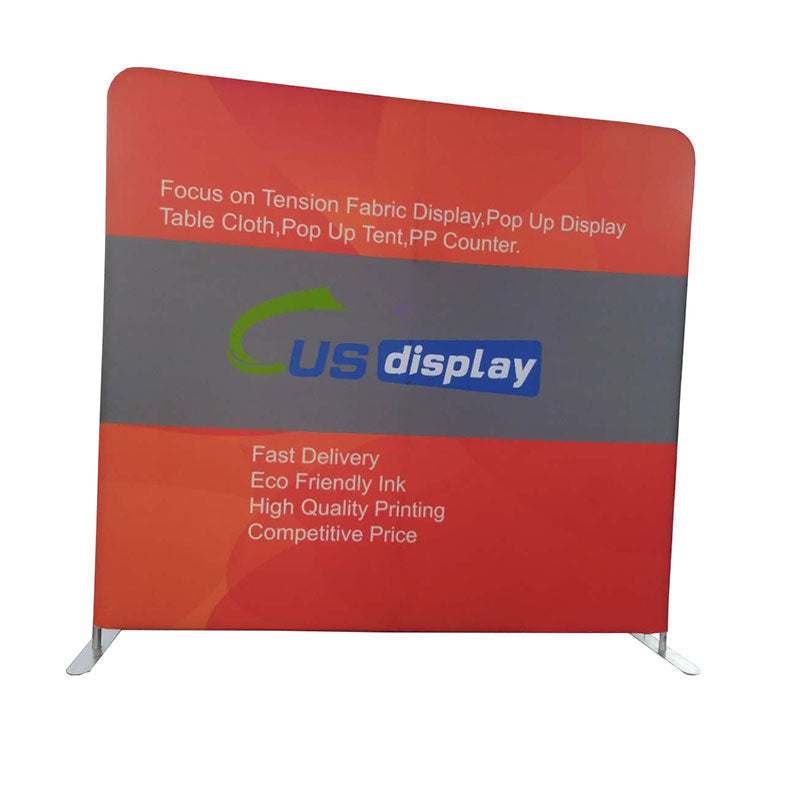 Trade Show Backdrop-Tension Fabric Display Backdrop-Media Wall