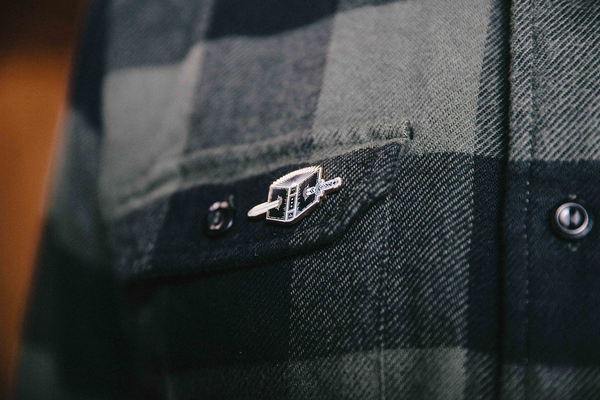 CHTD - Double-edged Sword Pin