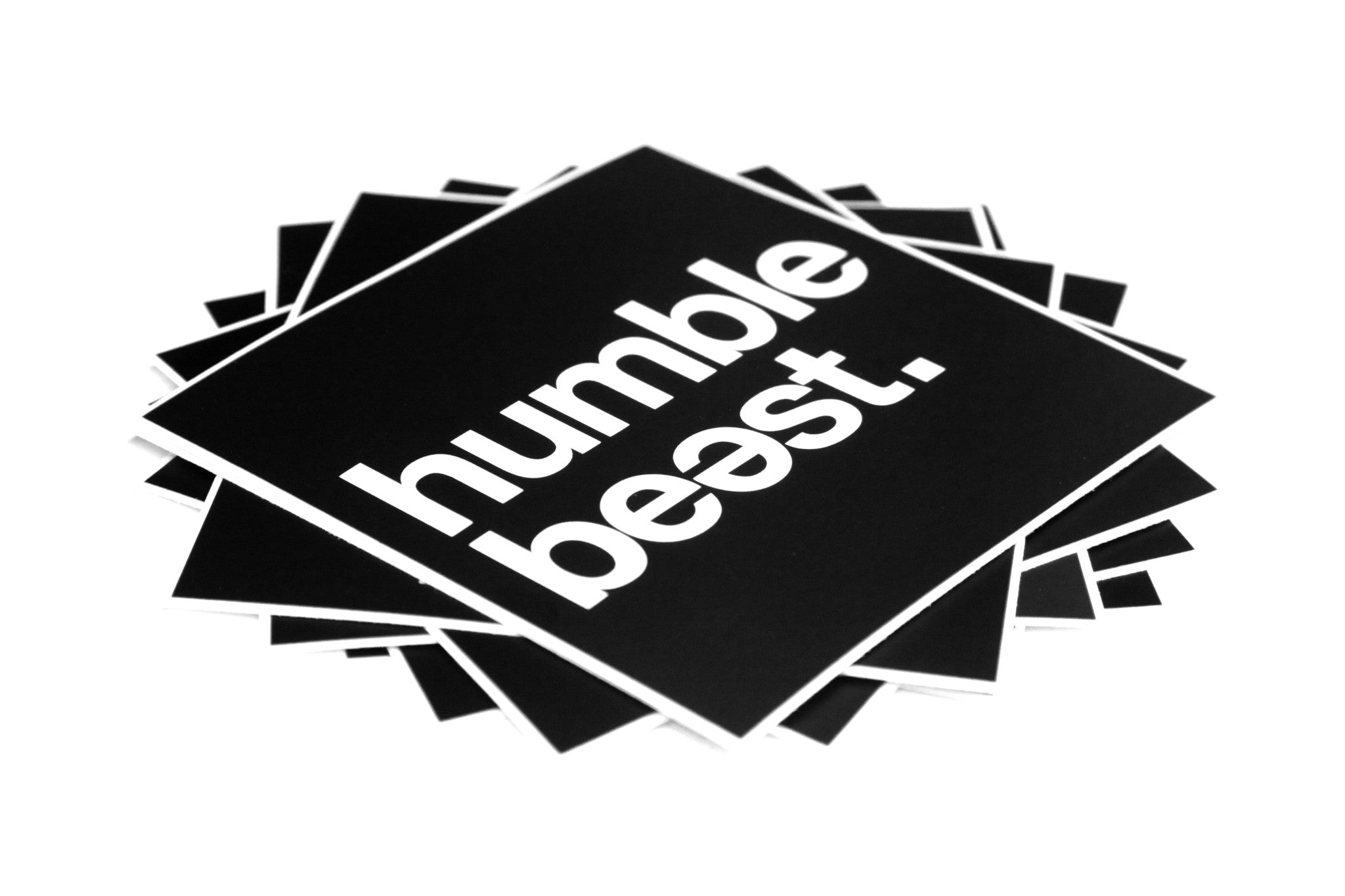Humble Beast - Sticker 10 Pack