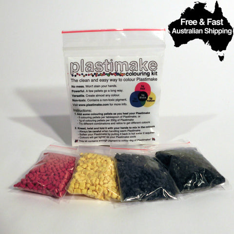 Plastimake Colouring Kit