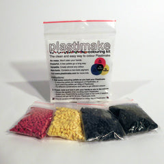 Plastimake 400g bag + Colouring Kit