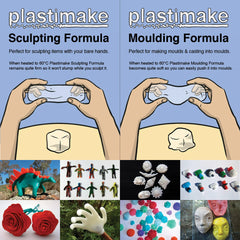 Plastimake 800g jar + Colouring Kit