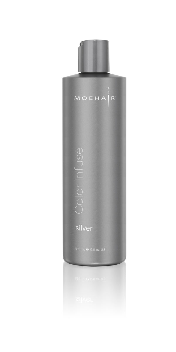Moehair Color Infuse - Silver 12 oz