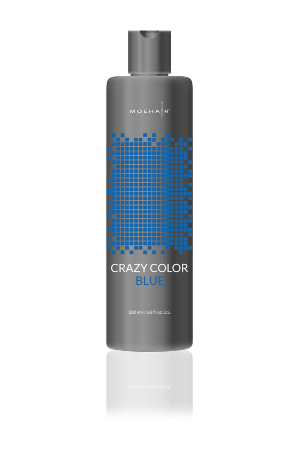 Moehair Crazy Color - Blue - 6.8 oz