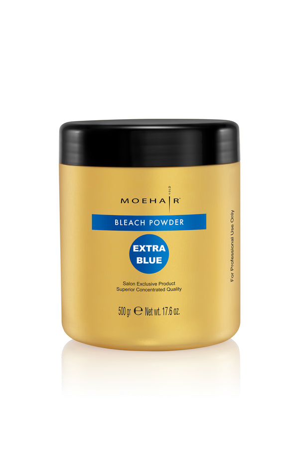 Moehair Extra Blue Bleach Powder - 17.6 oz